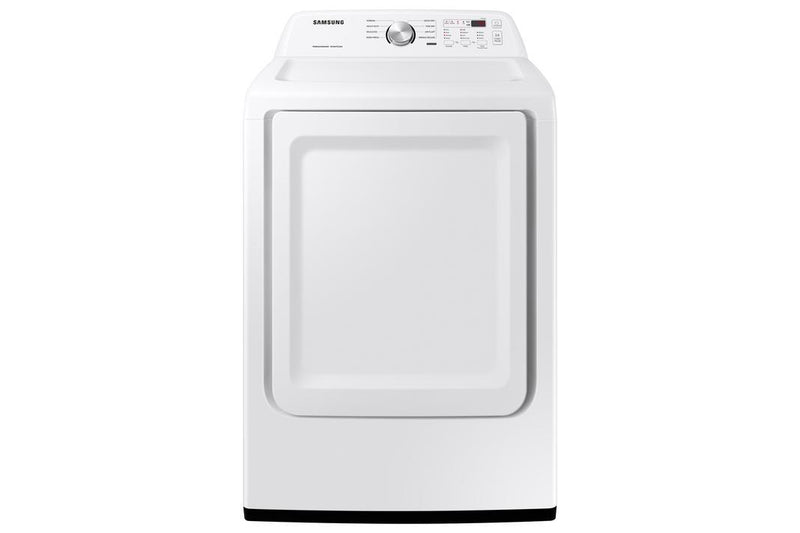 Samsung - 7.2 cu. Ft  Electric Dryer in White - DVE45T3200W