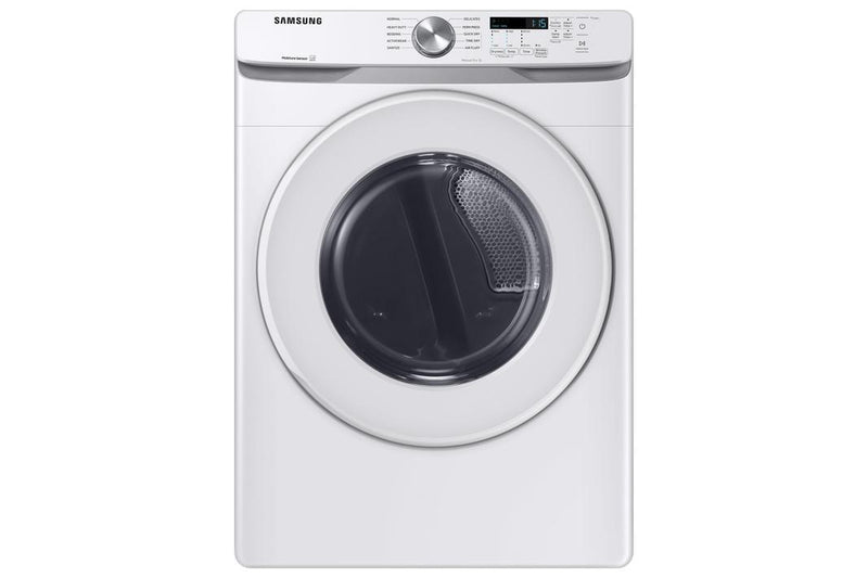 Samsung - 7.5 cu. ft  Electric Dryer in White - DVE45T6005W