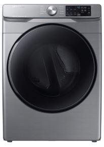 Samsung - 7.5 cu. ft  Electric Dryer in Grey - DVE45T6100P