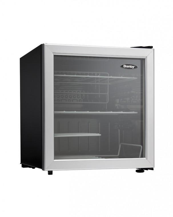 Danby - 17.7 Inch 1.8 cu. ft Wine Fridge Refrigerator in Stainless - DWC172BLPDB
