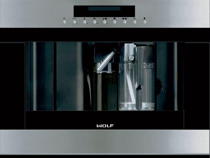 Wolf -  Built-In Coffee Maker in Stainless - EC24/S