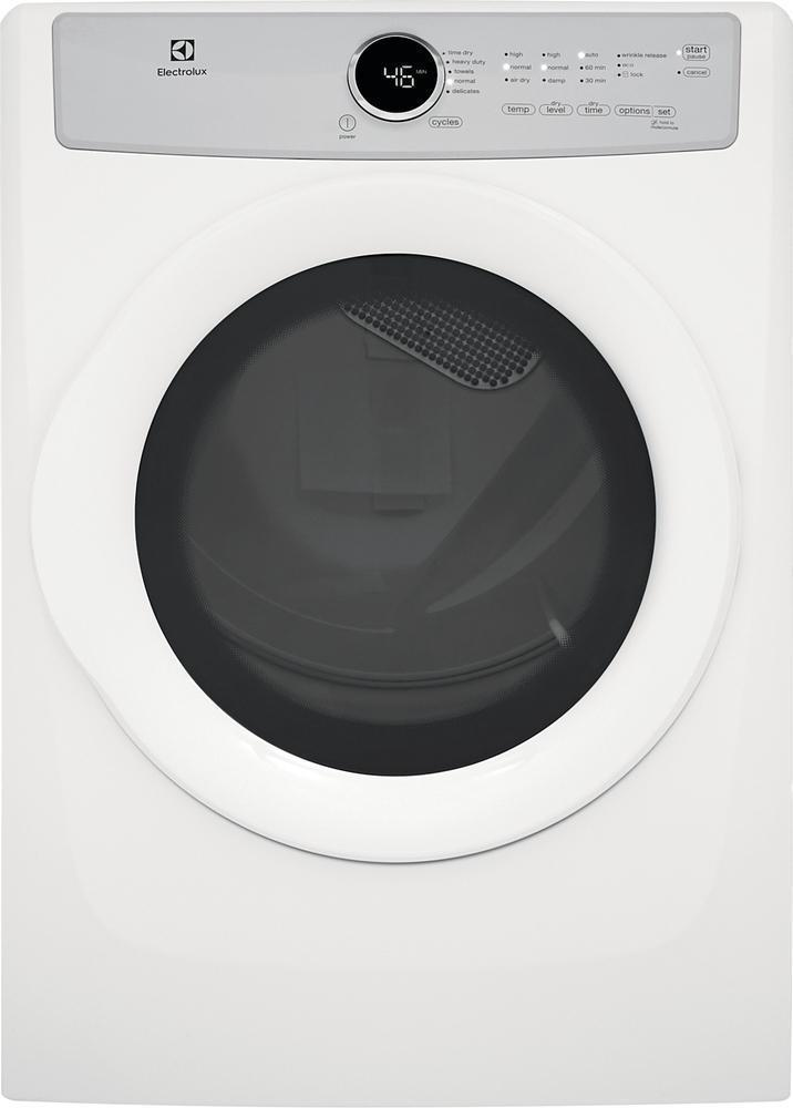 Electrolux - 8 cu. Ft  Gas Dryer in White - EFDG317TIW