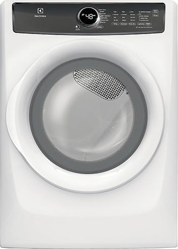 Electrolux - 8 cu. Ft  Electric Dryer in White  - EFMC427UIW