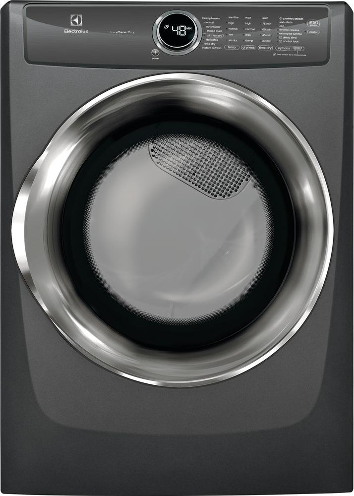 Electrolux - 8 cu. Ft  Gas Dryer in Grey - EFMG527UTT