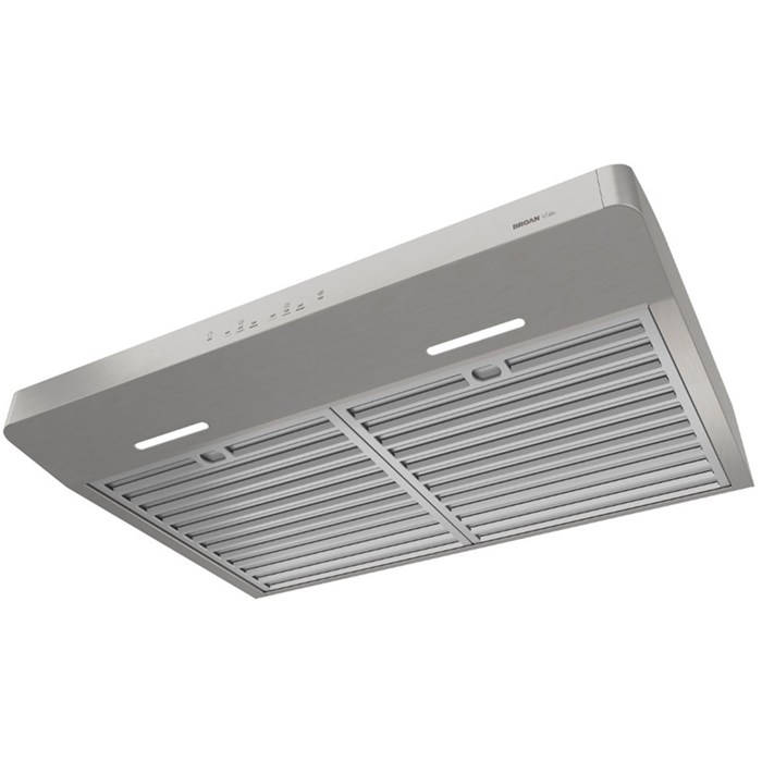 Broan - 30 Inch 600 CFM Under Cabinet Hood Vent in Stainless - ERLE130SS