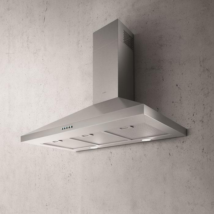 Elica - 30 Inch 400 CFM Wall Mount and Chimney Range Vent in Stainless - EVL430S2