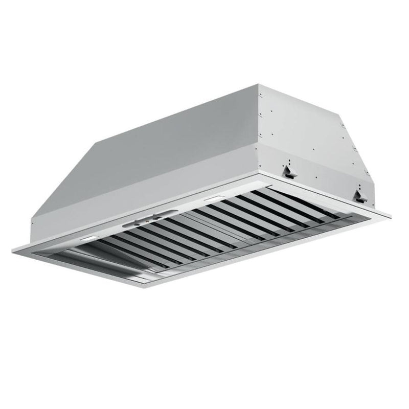 Fulgor Milano - 34.3 Inch 600 CFM Blower & Insert Vent in Stainless - F6BP34S1