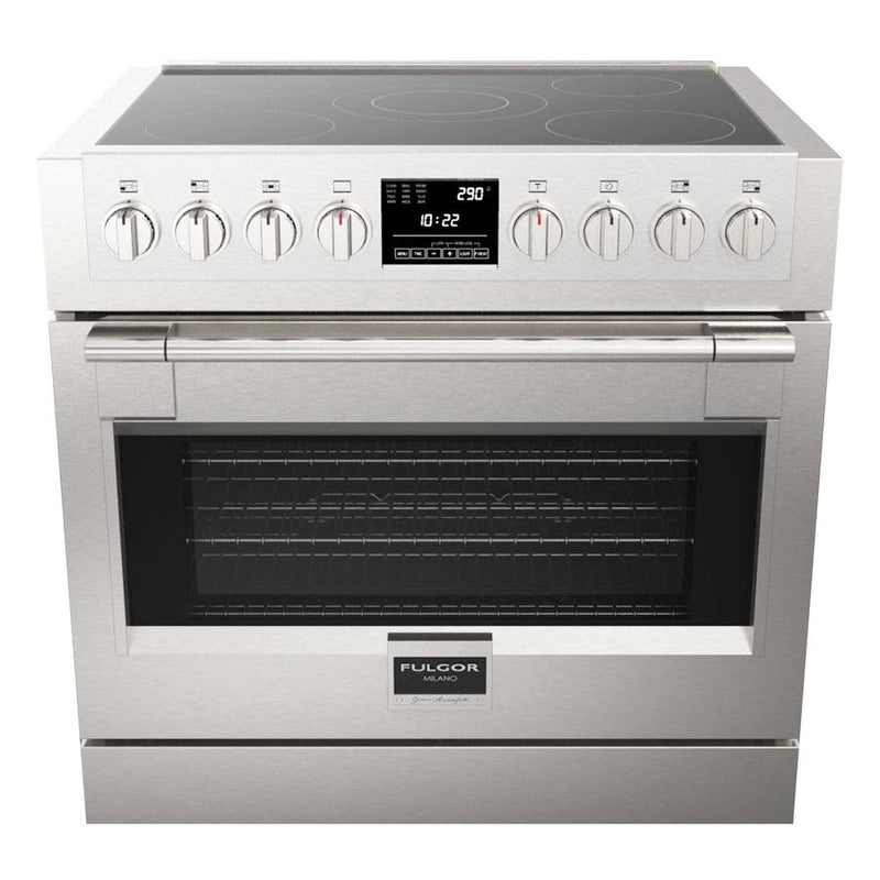 Fulgor Milano - 5.7 cu. ft  Induction Range in Stainless - F6PIR365S1