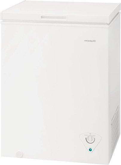 Frigidaire - 5 cu. Ft  Chest Freezer in White - FFCS0522AW