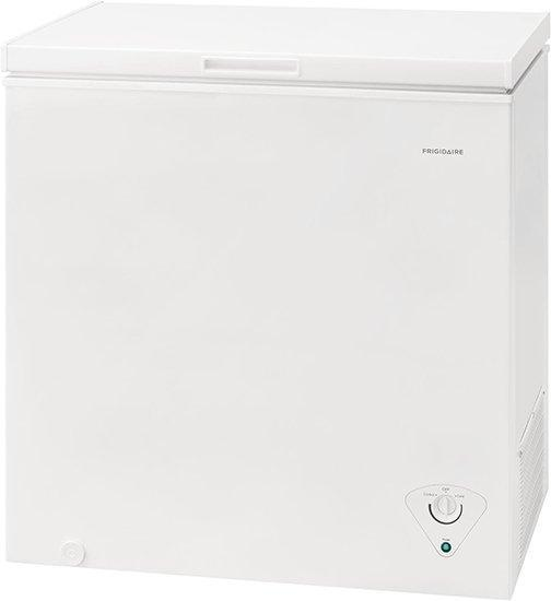 Frigidaire - 7 cu. Ft  Chest Freezer in White - FFCS0722AW