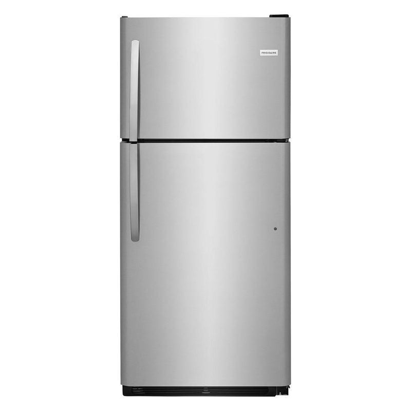 Frigidaire - 29.625 Inch 20.4 cu. ft Top Mount Refrigerator in Stainless - FFTR2021TS