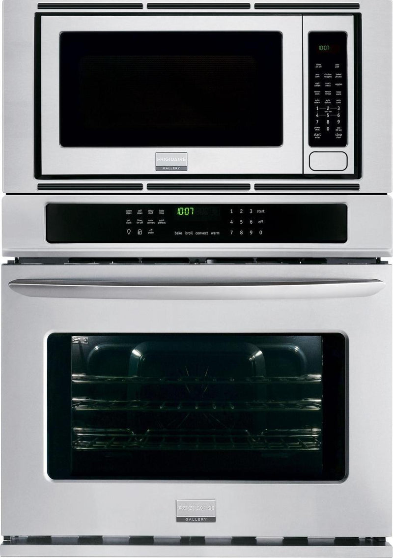 Frigidaire Gallery - 5.1 cu. ft  Combination Wall Oven in Strainless Steel - FGMC3065PF