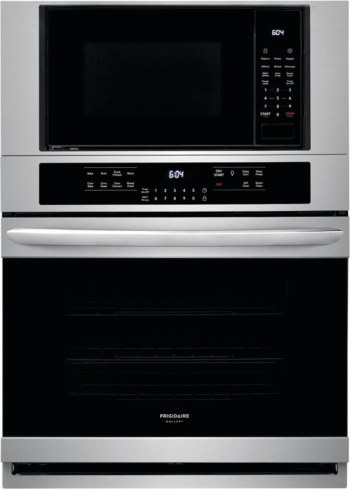 Frigidaire Gallery - 5.1 cu. ft Combination Wall Oven in Stainless Steel - FGMC3066UF