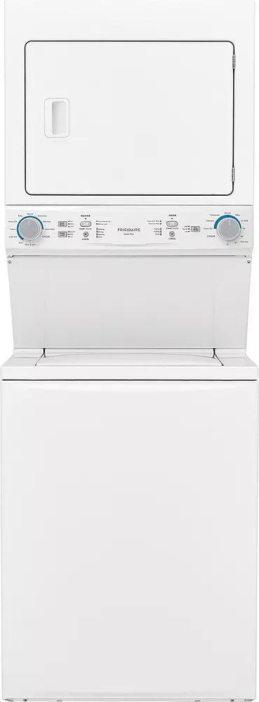 Frigidaire - 9.4 cu. Ft  Combo All-In-One Washer Dryer Combo in White - FLCE752CAW