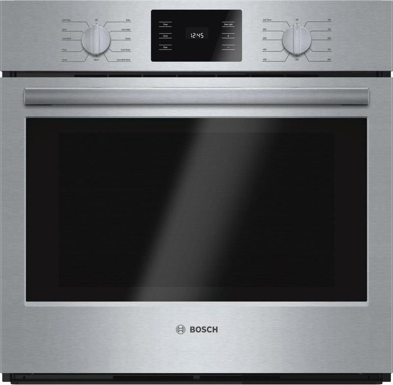 Bosch - 4.6 cu. ft Single Wall Oven in Stainless Steel - HBL5451UC