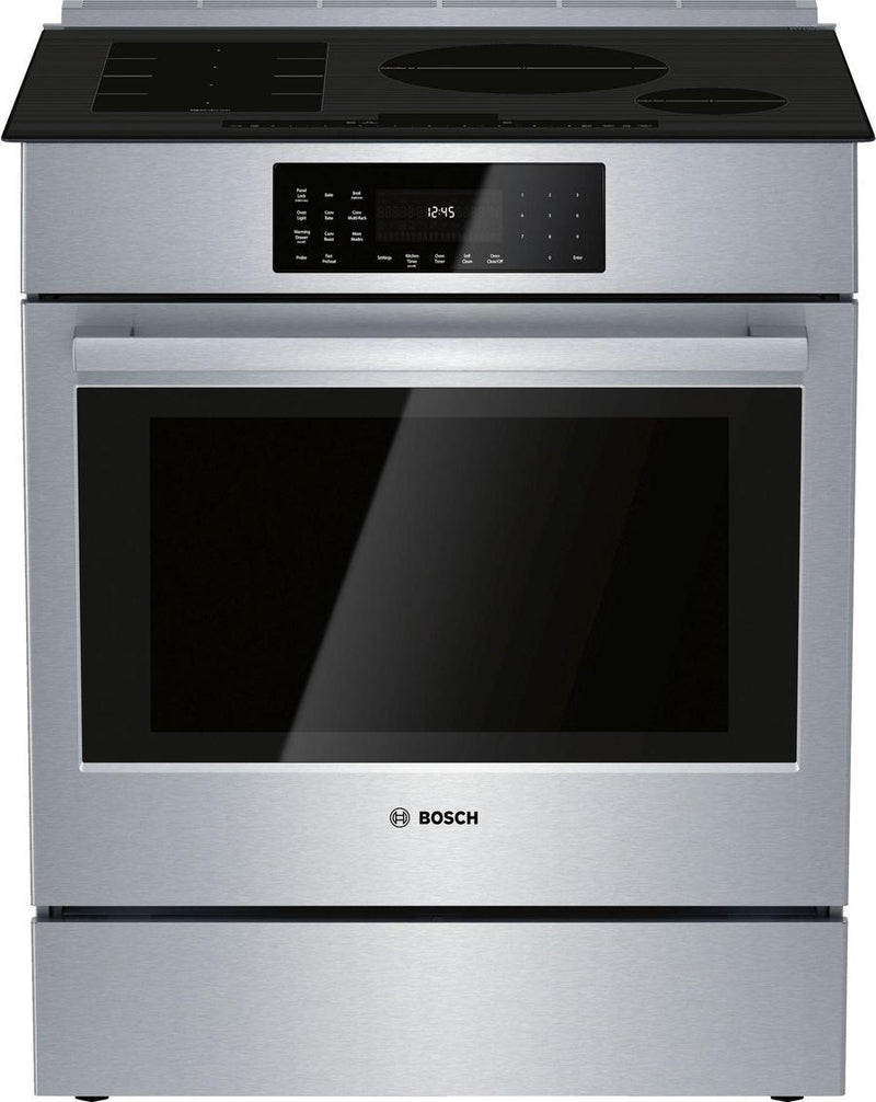 Bosch - 5 cu. ft  Induction Range in Stainless - HIIP056C