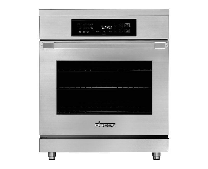 Dacor - 5.2 cu. ft  Induction Range in Stainless - HIPR30S-C