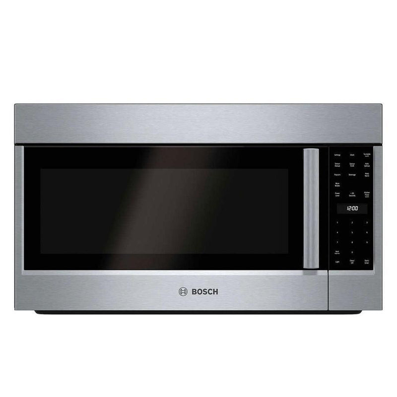 Bosch - 2.1 cu. Ft  Over the range Microwave in Stainless - HMV5053C