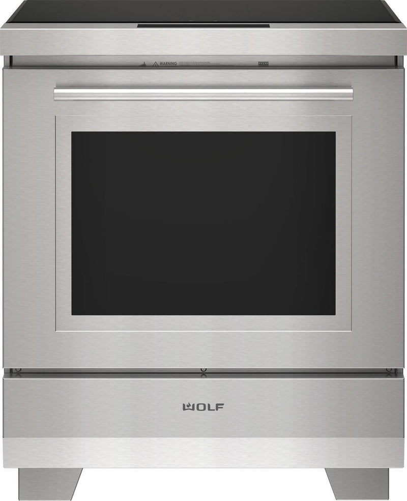 Wolf - 5.1 cu. ft  Induction Range in Stainless - IR30450/S/T