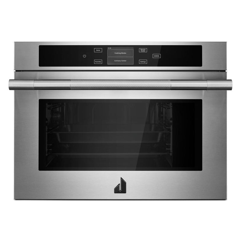Jennair - 1.3 cu. ft Steam Wall Oven in Stainless - JJW6024HL