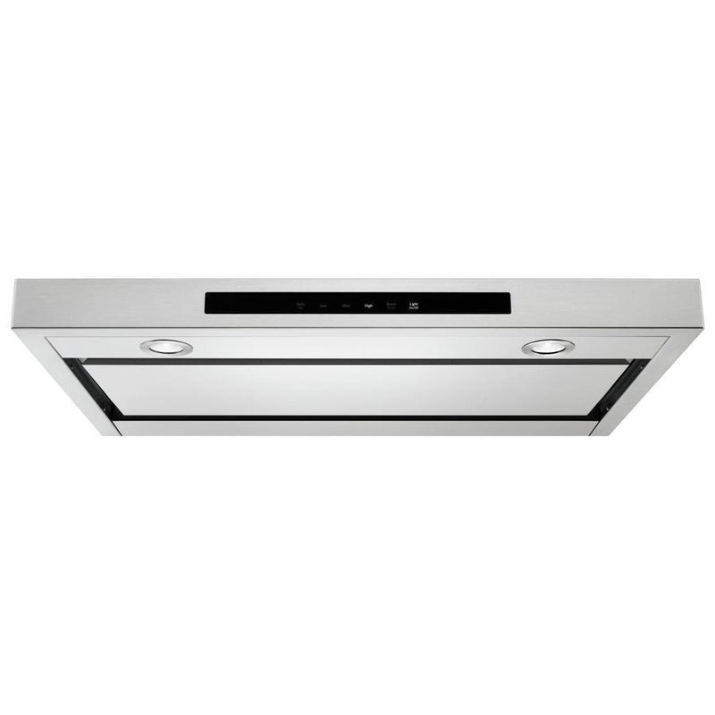 KitchenAid - 29.9 Inch 400 CFM Under Cabinet Range Vent in Stainless - KVUB400GSS