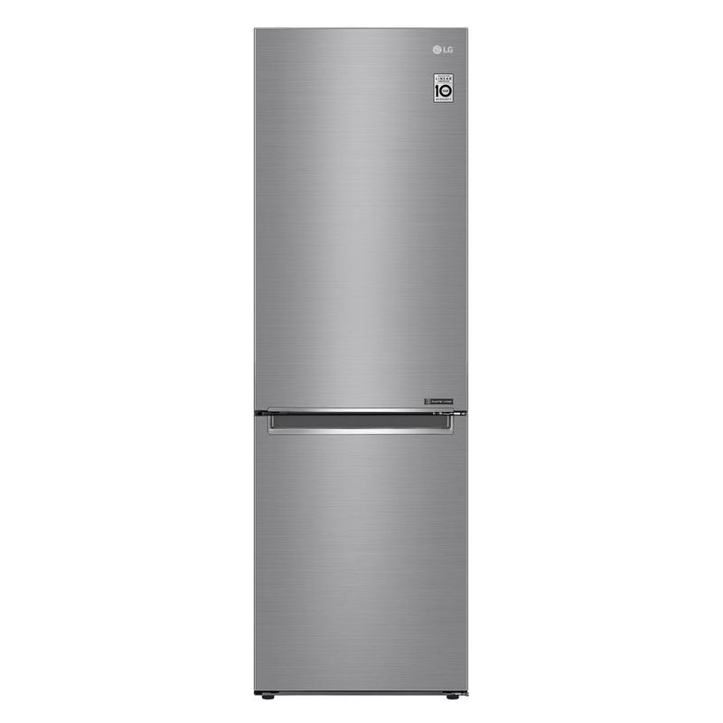 LG - 23.5 Inch 11.9 cu. ft Bottom Mount Refrigerator in Silver - LBNC12231V