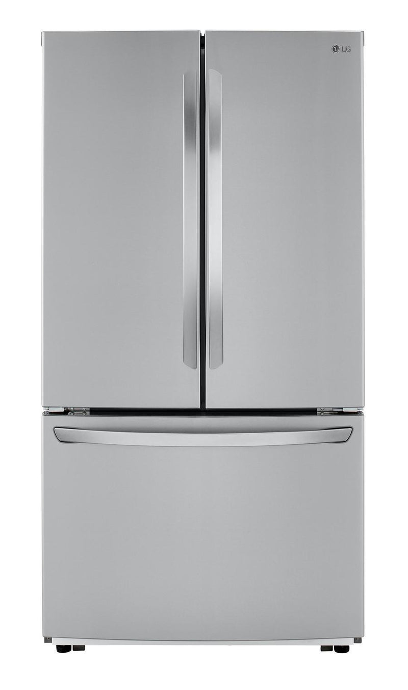 LG - 35.8 Inch 22.8 cu. ft French Door Refrigerator in Stainless - LFCC22426S