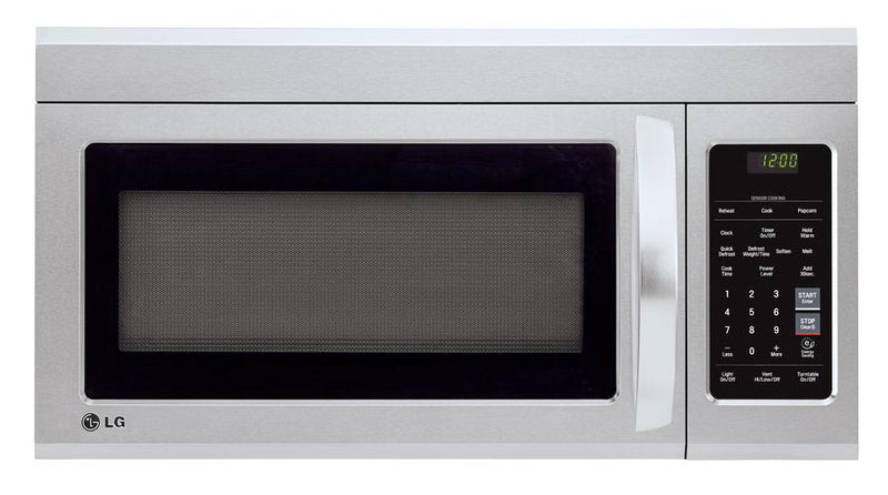 LG - 1.8 cu. Ft  Over the range Microwave in Stainless - LMV1852ST