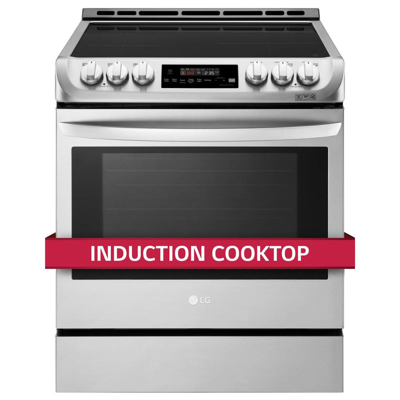 LG - 6.3 cu. ft  Induction Range in Stainless - LSE4616ST