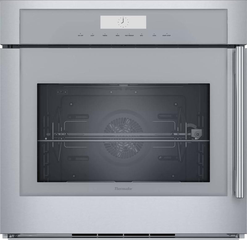 Thermador - 4.5 cu. ft Single Wall Oven in Stainless - MED301LWS