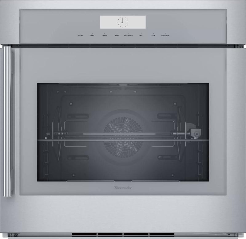 Thermador - 4.5 cu. ft Single Wall Oven in Stainless - MED301RWS