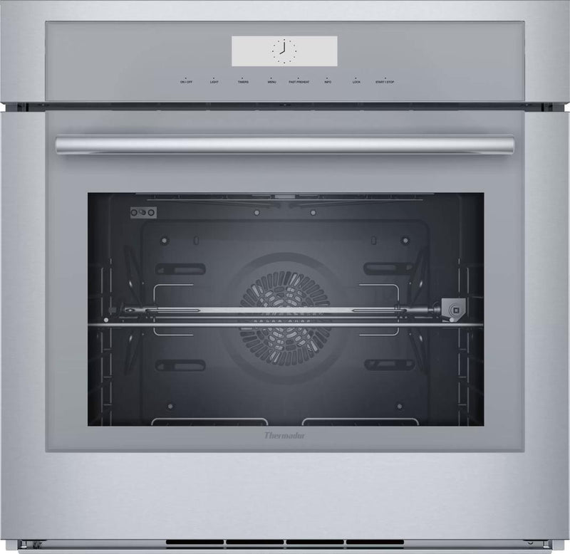 Thermador - 4.5 cu. ft Single Wall Oven in Stainless - MED301WS