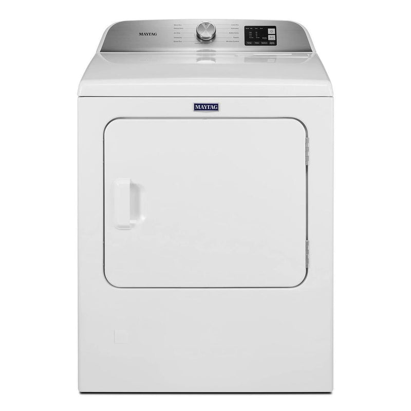 Maytag - 7 cu. Ft  Gas Dryer in White - MGD6200KW
