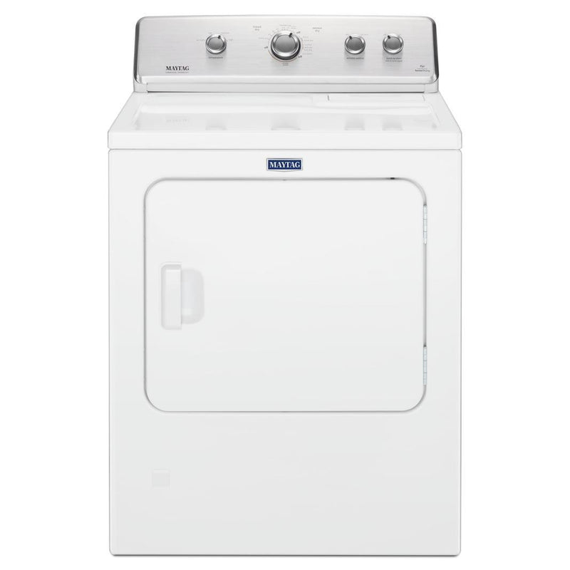 Maytag - 7 cu. Ft  Gas Dryer in White - MGDC465HW