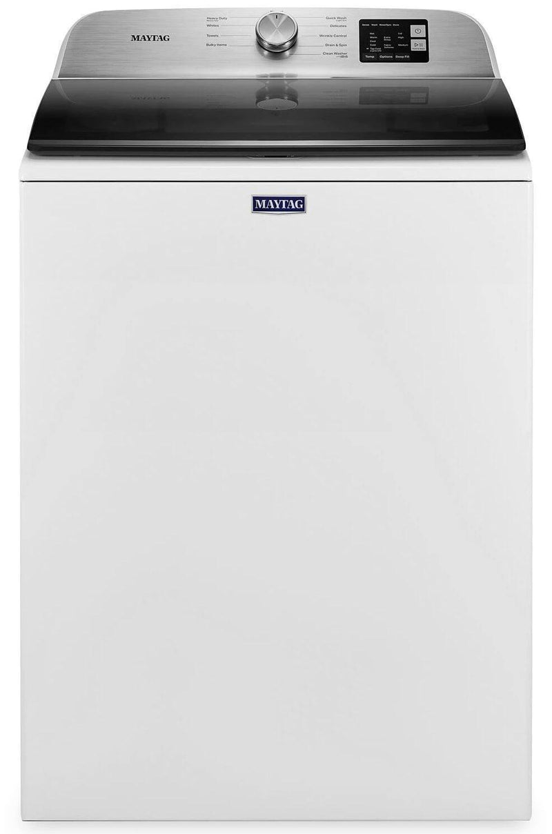 Maytag - 5.5 cu. Ft  Top Load Washer in White - MVW6200KW