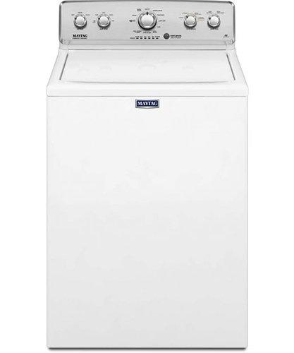 Maytag - 4.9 cu. Ft  Top Load Washer in White - MVWC565FW