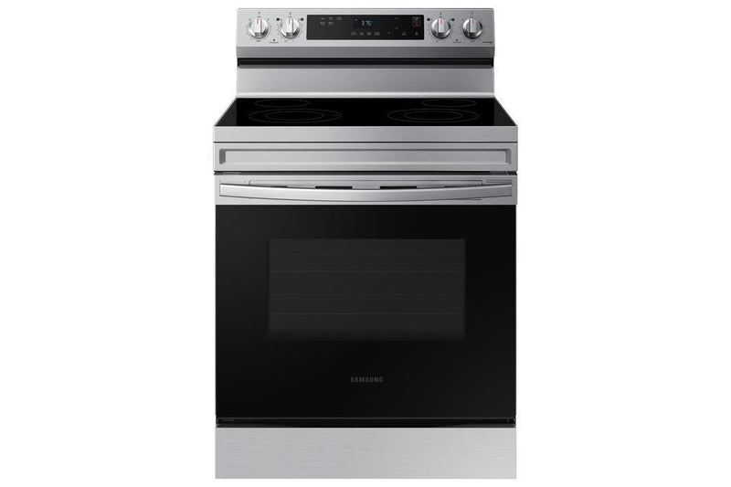 Samsung - 6.3 cu. ft  Electric Range in Stainless - NE63A6111SS