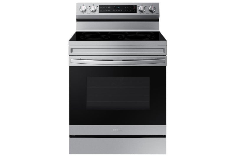 Samsung - 6.3 cu. ft  Electric Range in Stainless - NE63A6511SS