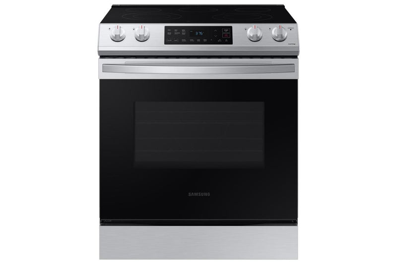 Samsung - 6.3 cu. ft  Electric Range in Stainless - NE63T8111SS
