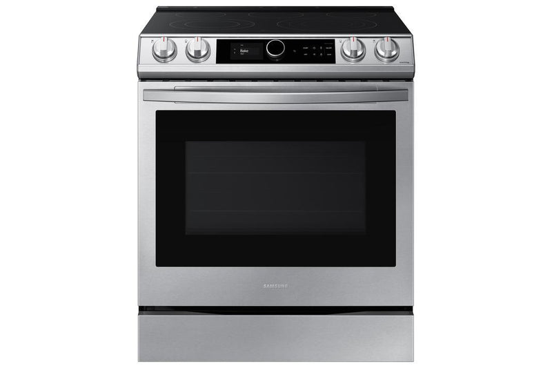 Samsung - 6.3 cu. ft  Electric Range in Stainless - NE63T8711SS