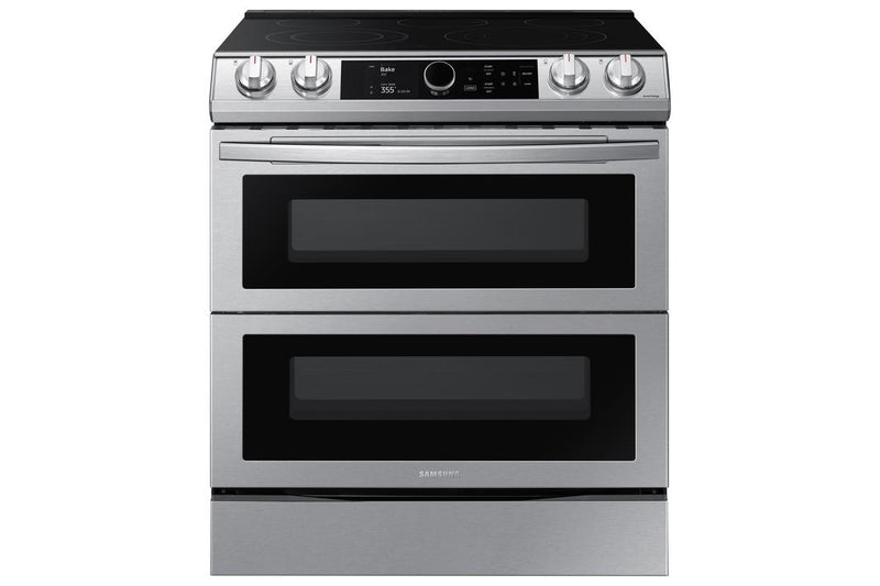 Samsung - 6.3 cu. ft  Electric Range in Stainless - NE63T8751SS