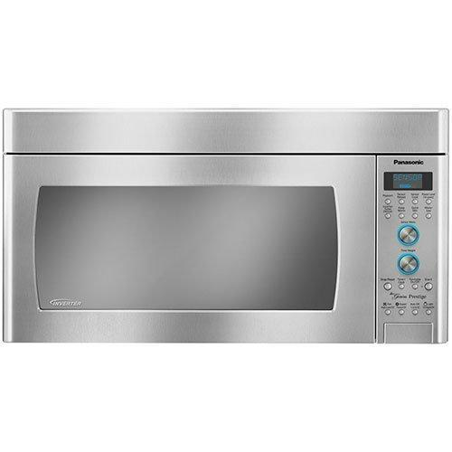 Panasonic - 2 cu. Ft  Over the range Microwave in Stainless steel - NNSD291S