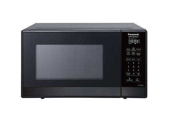 Panasonic - 0.9 cu. Ft  Counter top Microwave in Stainless/Black - NNSG448S