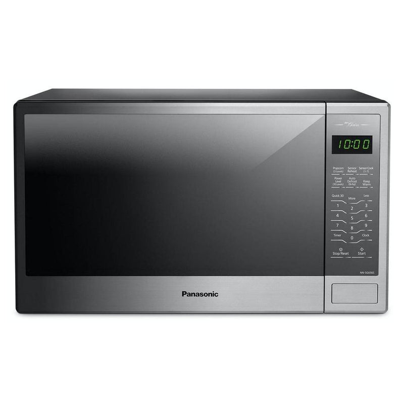Panasonic - 1.3 cu. Ft  Counter top Microwave in Stainless - NNSG656S