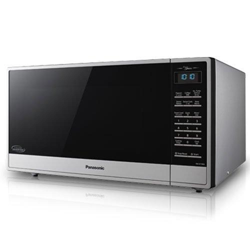 Panasonic - 1.6 cu. Ft  Counter top Microwave in Stainless steel - NNST785S