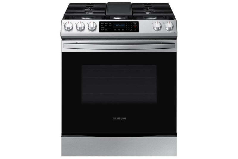 Samsung - 6 cu. ft  Gas Range in Stainless - NX60T8311SS