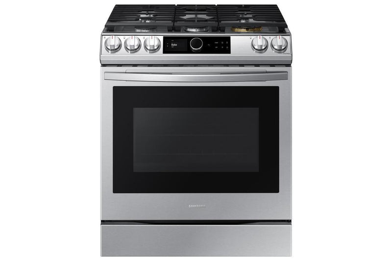 Samsung - 6 cu. ft  Gas Range in Stainless - NX60T8711SS