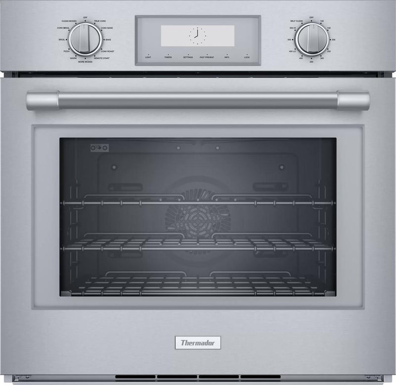 Thermador - 4.5 cu. ft Single Wall Oven in Stainless - PO301W