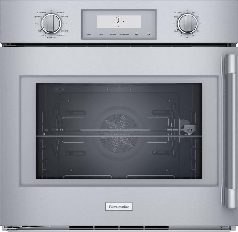 Thermador - 4.5 cu. ft Single Wall Oven in Stainless - POD301LW