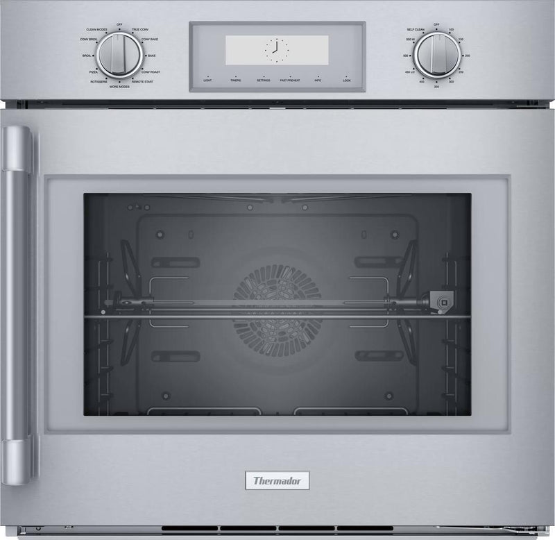 Thermador - 4.5 cu. ft Single Wall Oven in Stainless - POD301RW